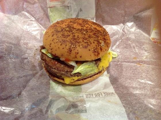 マクドナルドの期間限定メニュー!『サルサバーガー』を食べてきたよ!