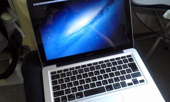 我が家にMacBookがやってきました!