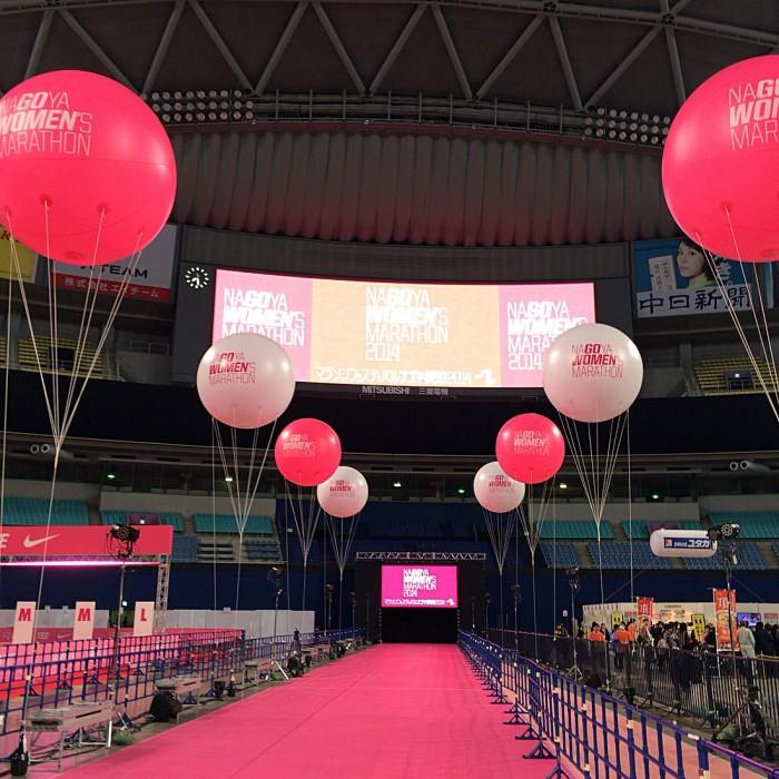 マラソンEXPO2014・名古屋へ開催当日に行ってブース体験やうまいものを食べてきた!