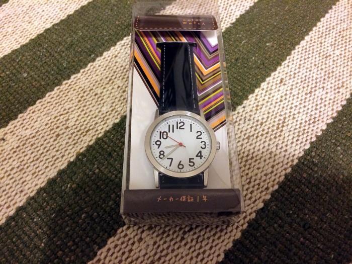 文字盤が超シンプルな腕時計クレファーカラーウォッチを購入!