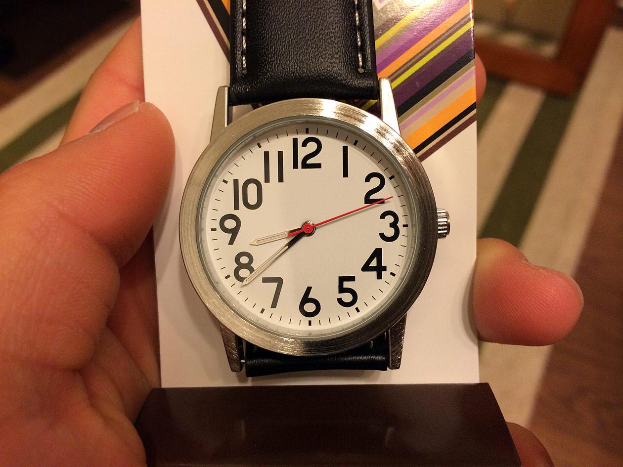 クレファー腕時計-開封