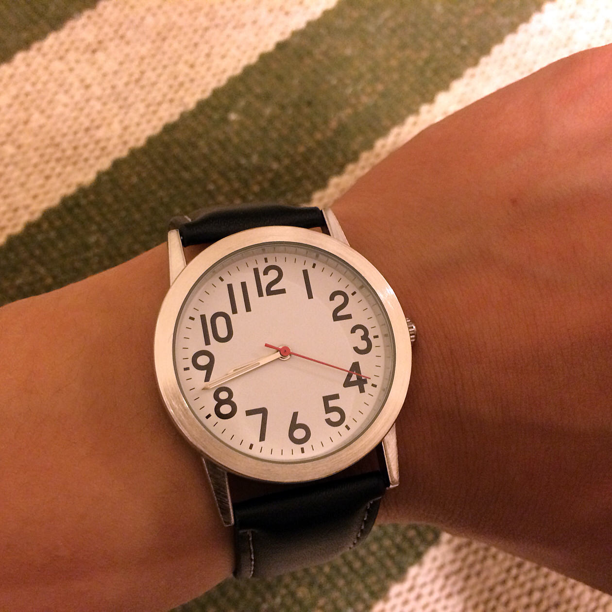 腕時計-着用