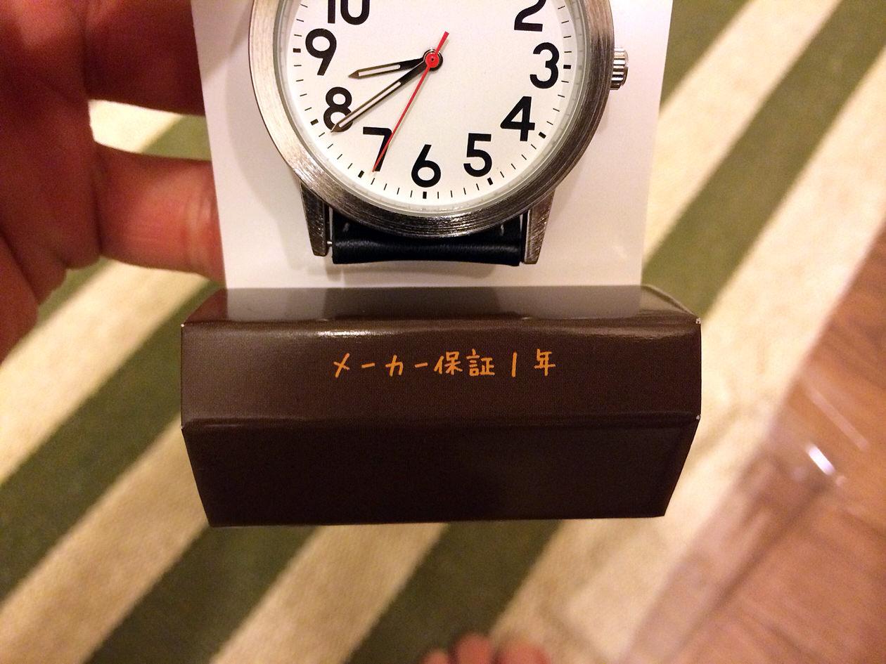 腕時計-メーカー保証