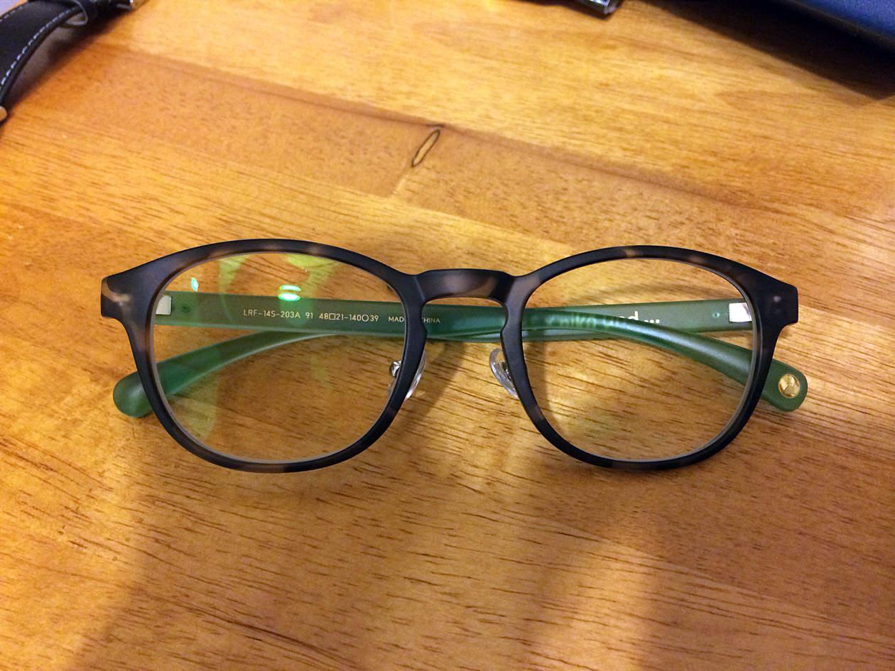 J!NS×niko and…のコラボ第二弾メガネを購入!ちょいダサ感がたまらないぞ!