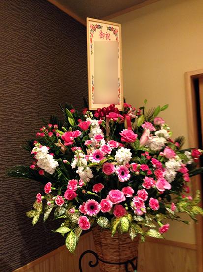 結婚-お花-スタンド