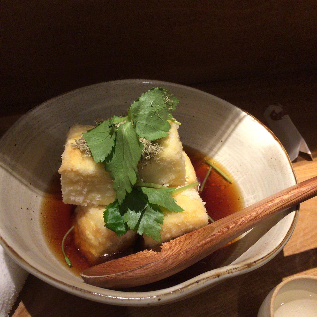 和さび-揚げ出し豆腐