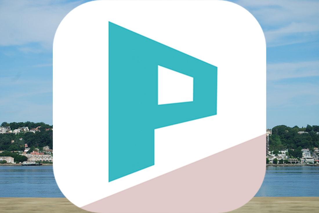 遠近感のある文字を入れて写真に奥行きを出せるiPhoneアプリ『PERSTEXT』