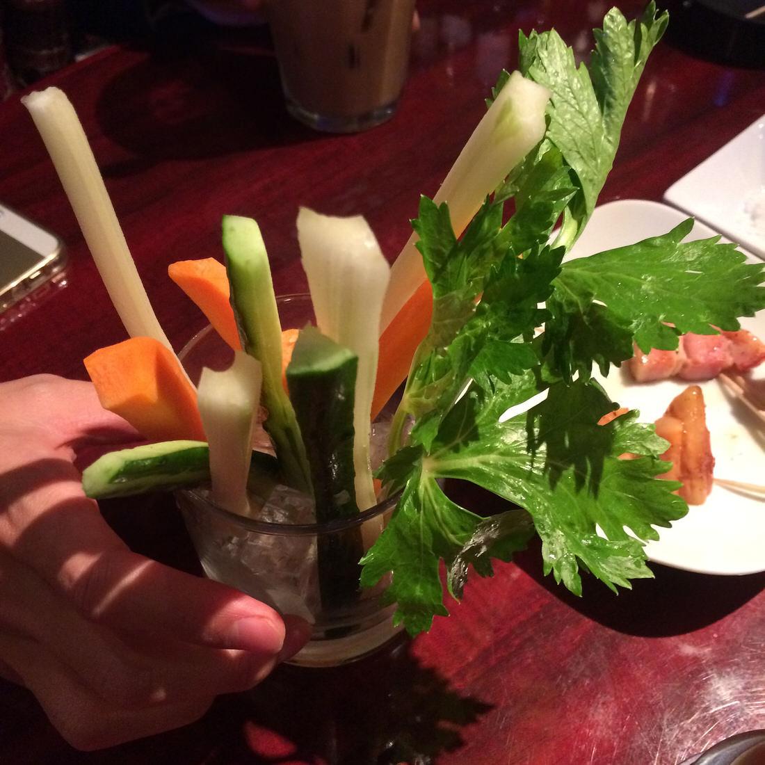 quarters-野菜スティック