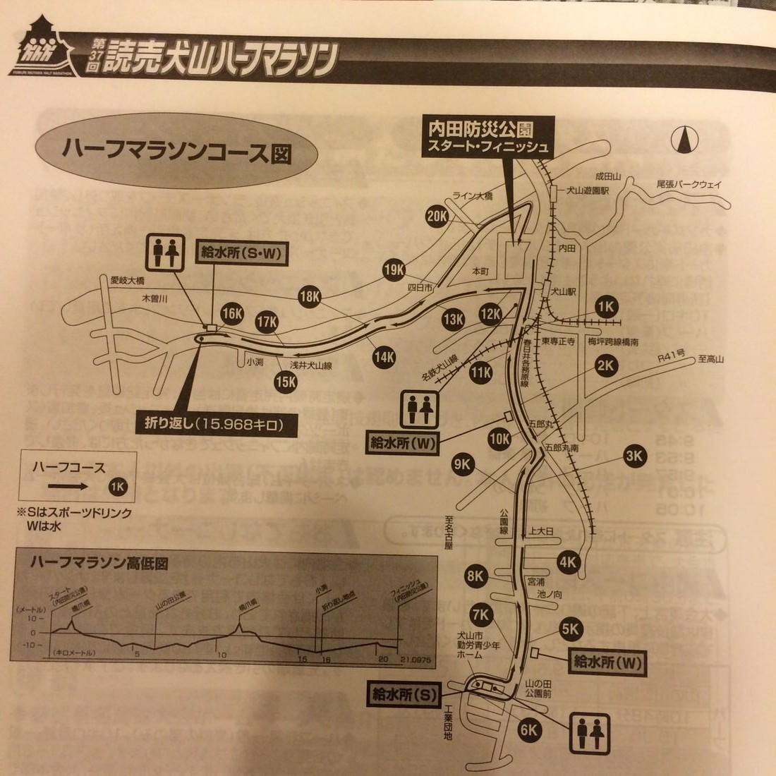 犬山マラソン-スポドリ
