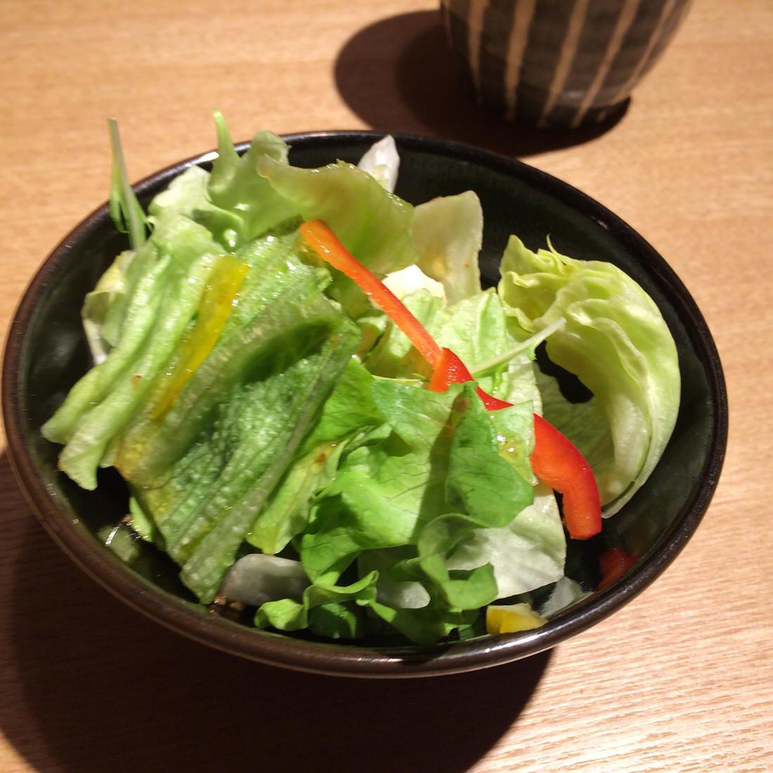 ゑぐち屋-ランチサラダ