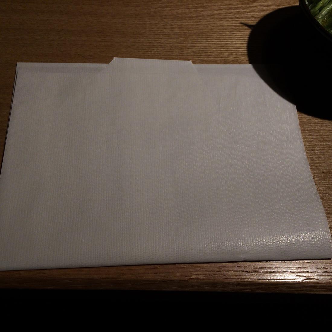 ゑぐち屋-紙ナプキン