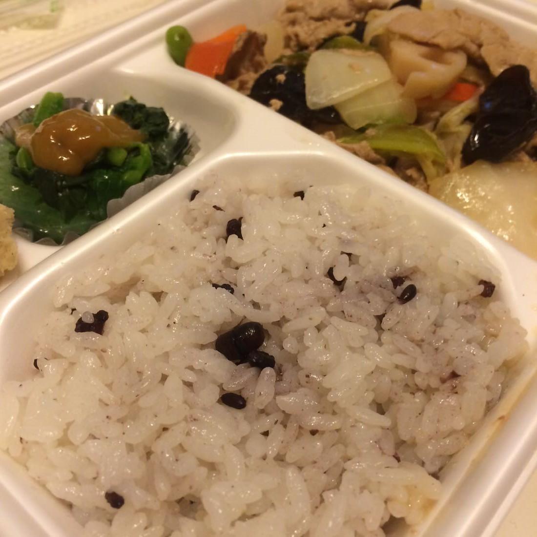 タニタ弁当-雑穀