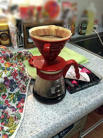 コーヒ豆-淹れる