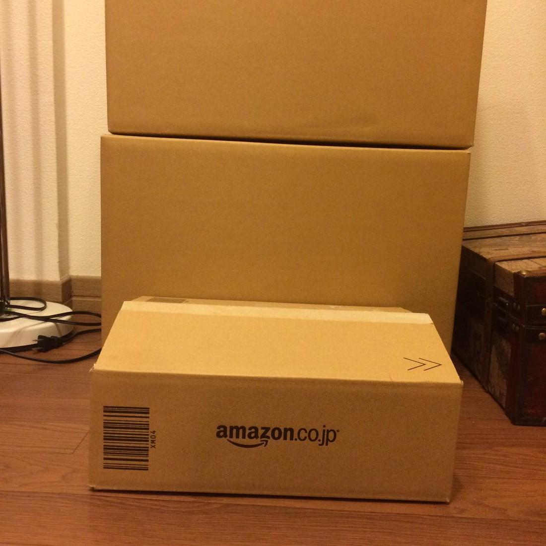 ダンボール-Amazonと比較