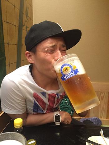 串カツあらた-1リットルビール