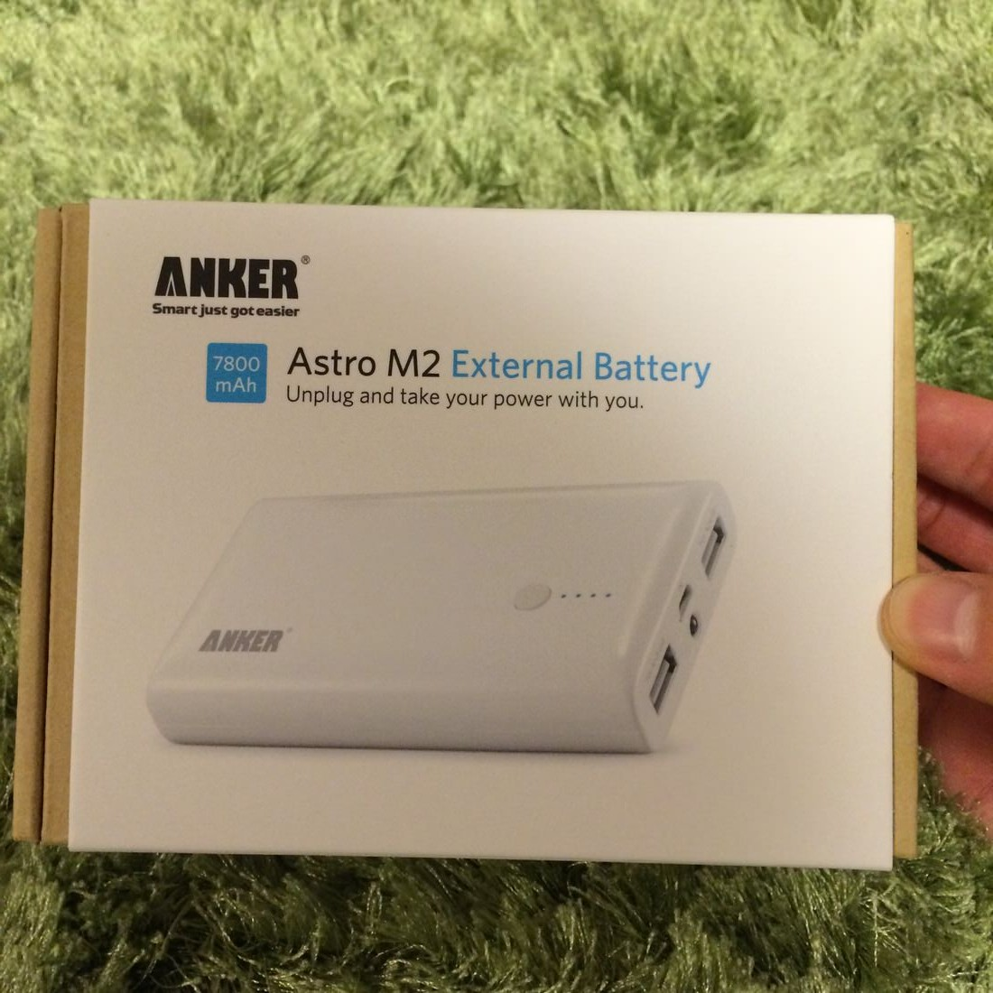 Anker Astro M2モバイルバッテリーを購入!AndroidもiPhoneも高速で充電を!