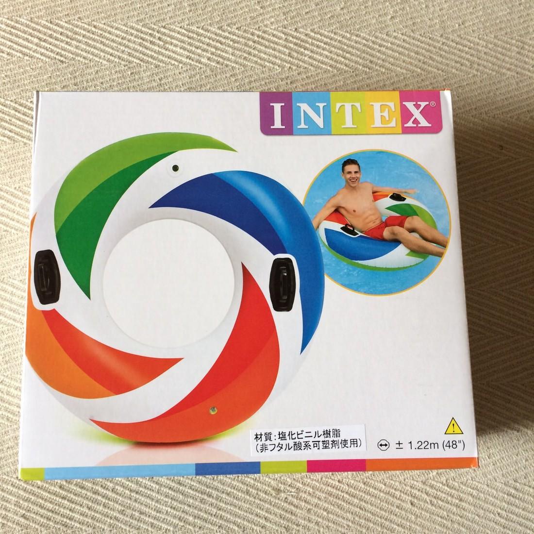 大きい浮き輪をAmazonで購入するならINTEXで決まり!