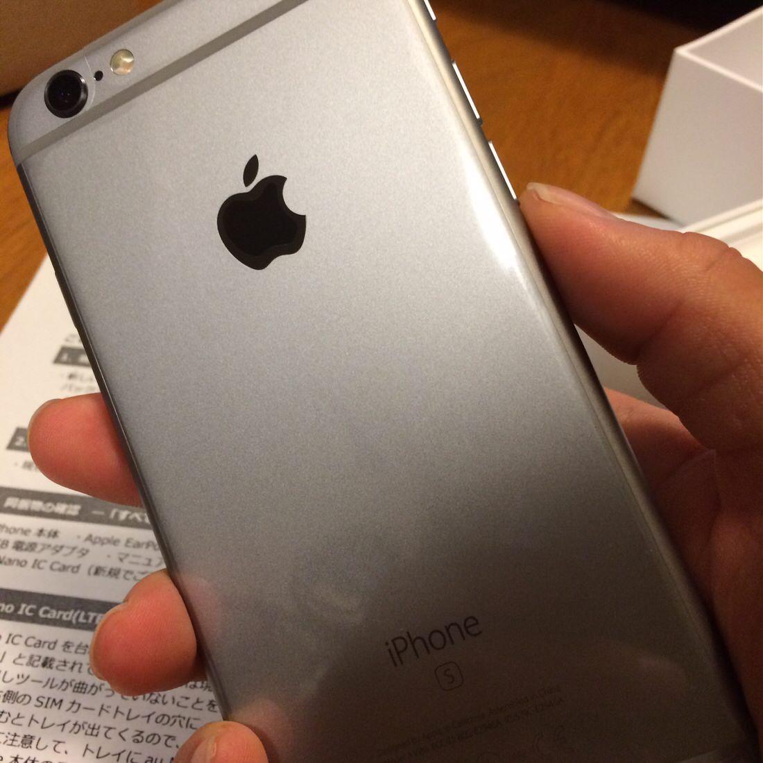 iPhone6s-裏