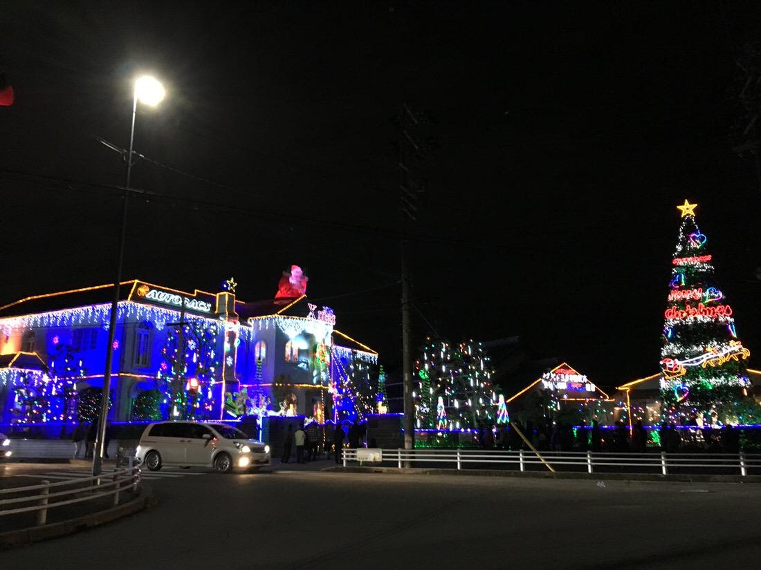 入場料も調べて愛知県豊明市にあるオートバックスの『イルミネーション』を見てきた!
