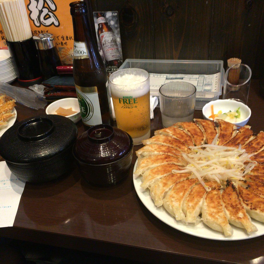 石松-浜松餃子定食