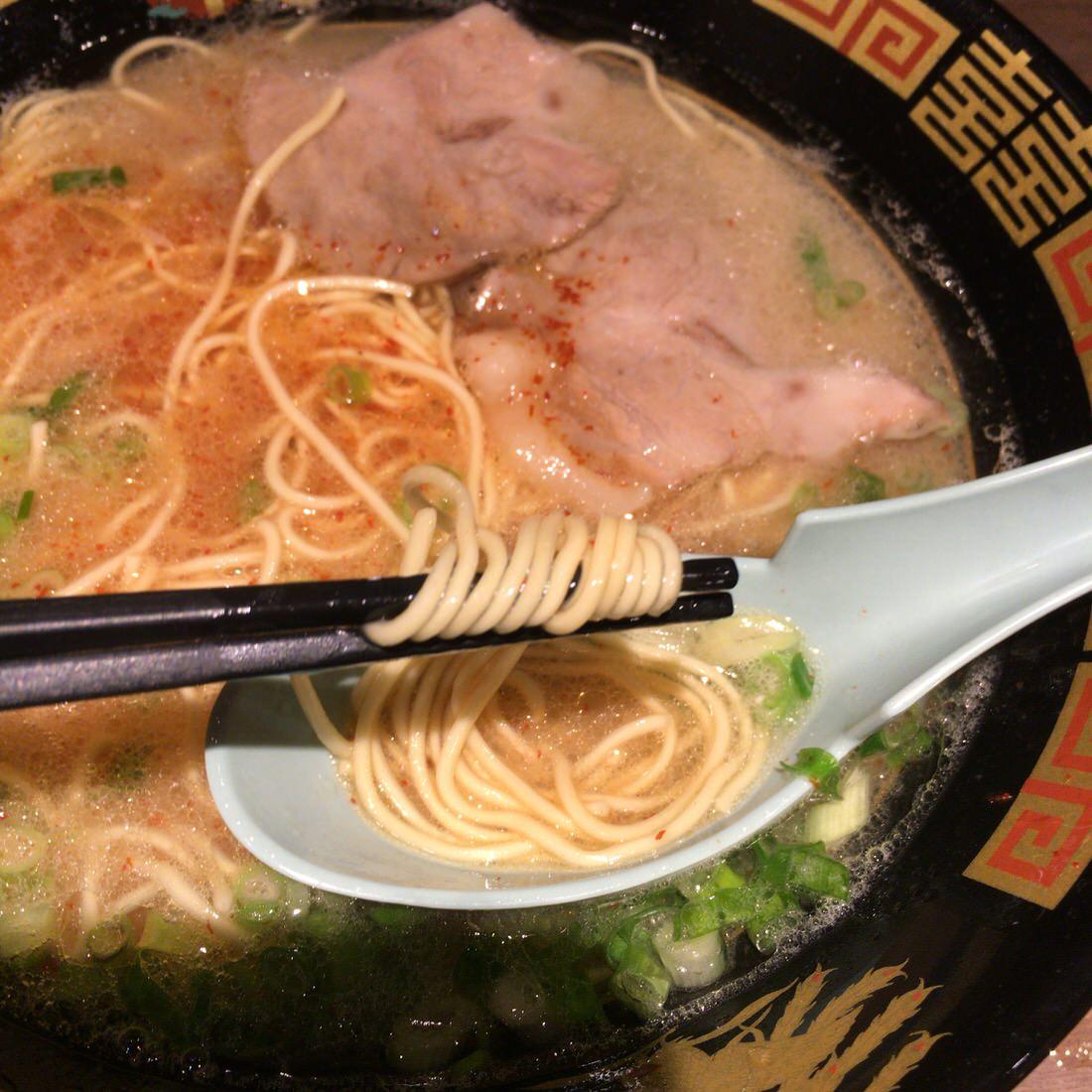 一蘭-細麺