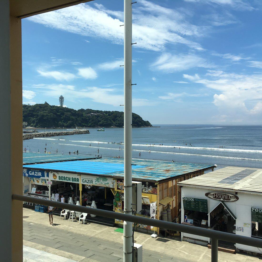 新江ノ島水族館から見える絶景