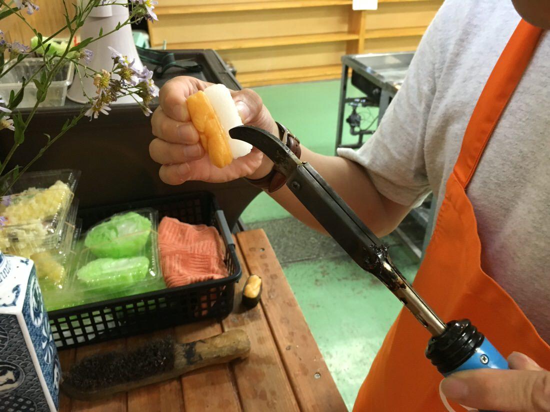 寿司サンプル-うに