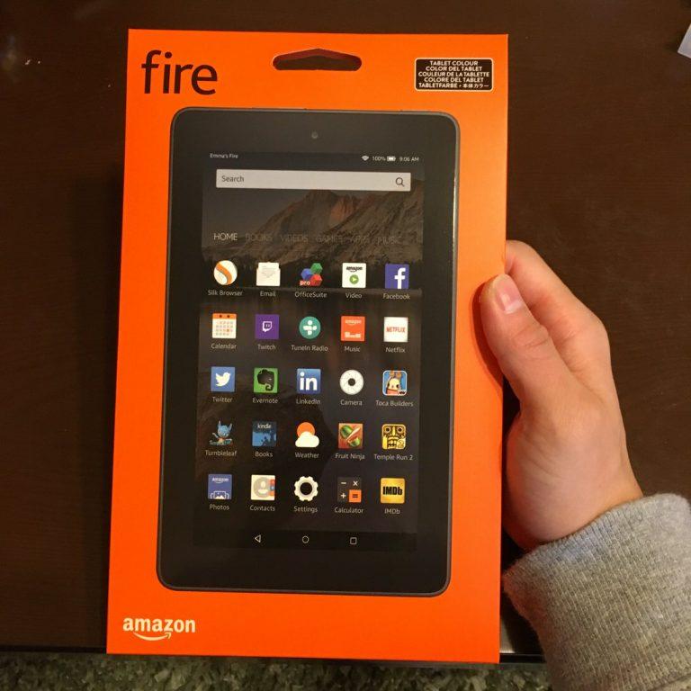 Amazon fire タブレット 8GBをプライム会員特典で購入して一週間ほど使用してみた