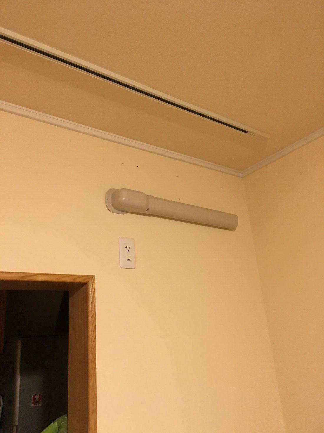 隠蔽配管-エアコン