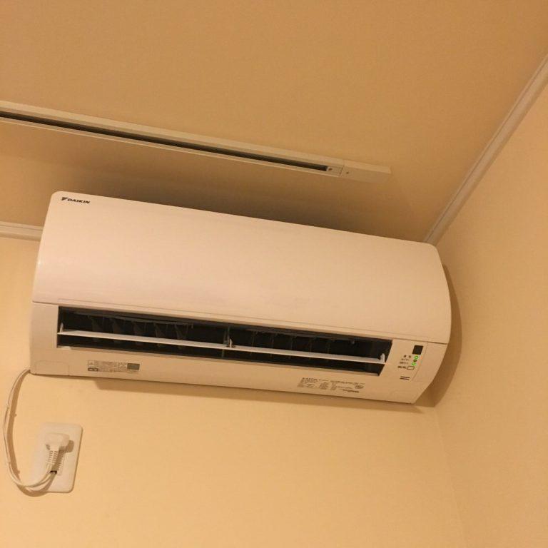 引っ越した賃貸アパートが隠蔽配管でエアコンの取り付けに苦労した話